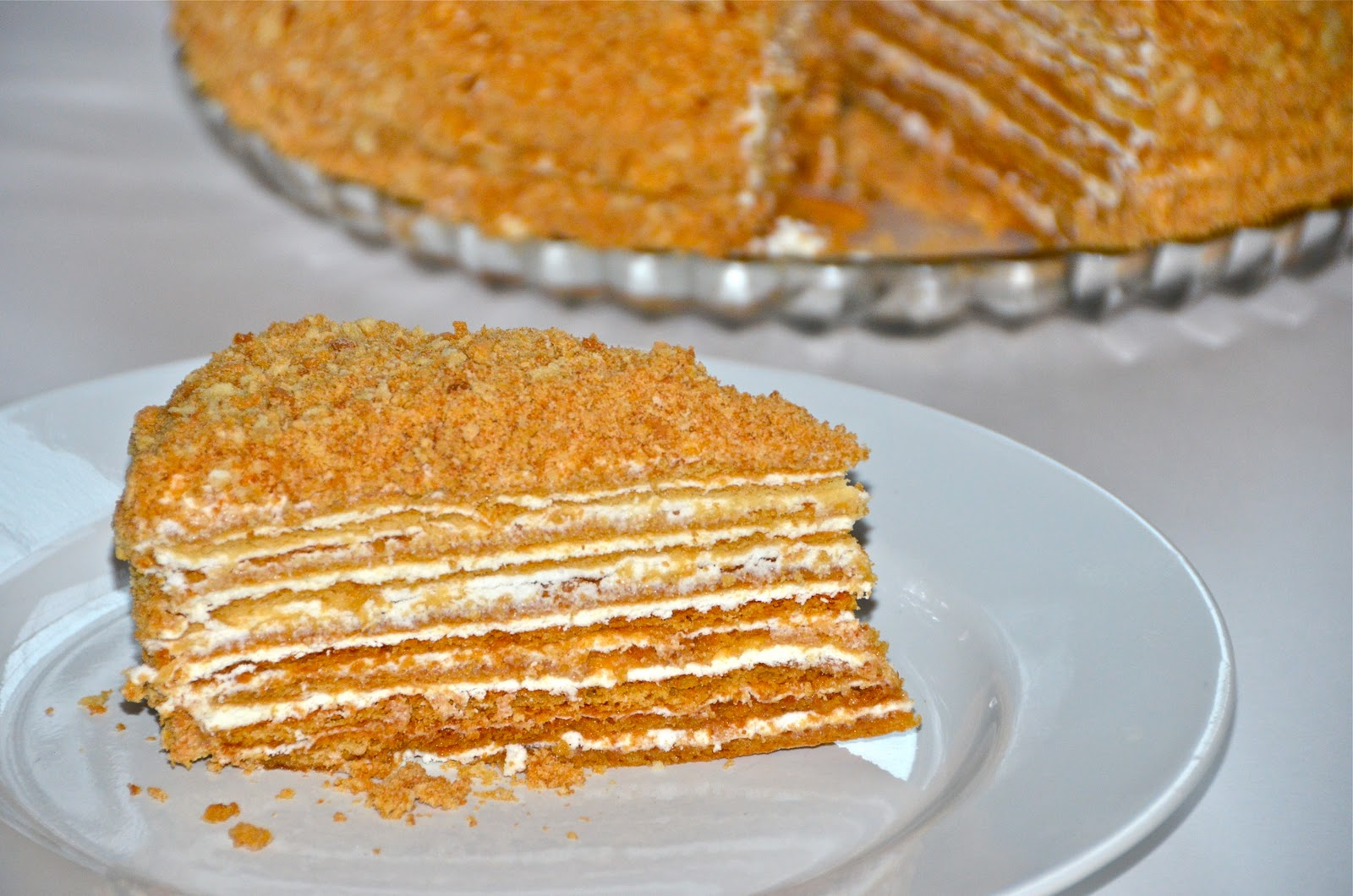 Layer Honey Cake Calories