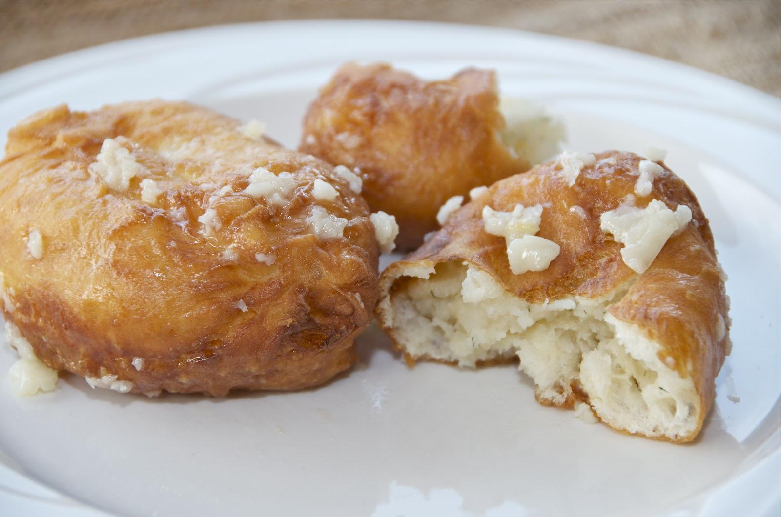 Пирожки с картошкой жареные пошагово