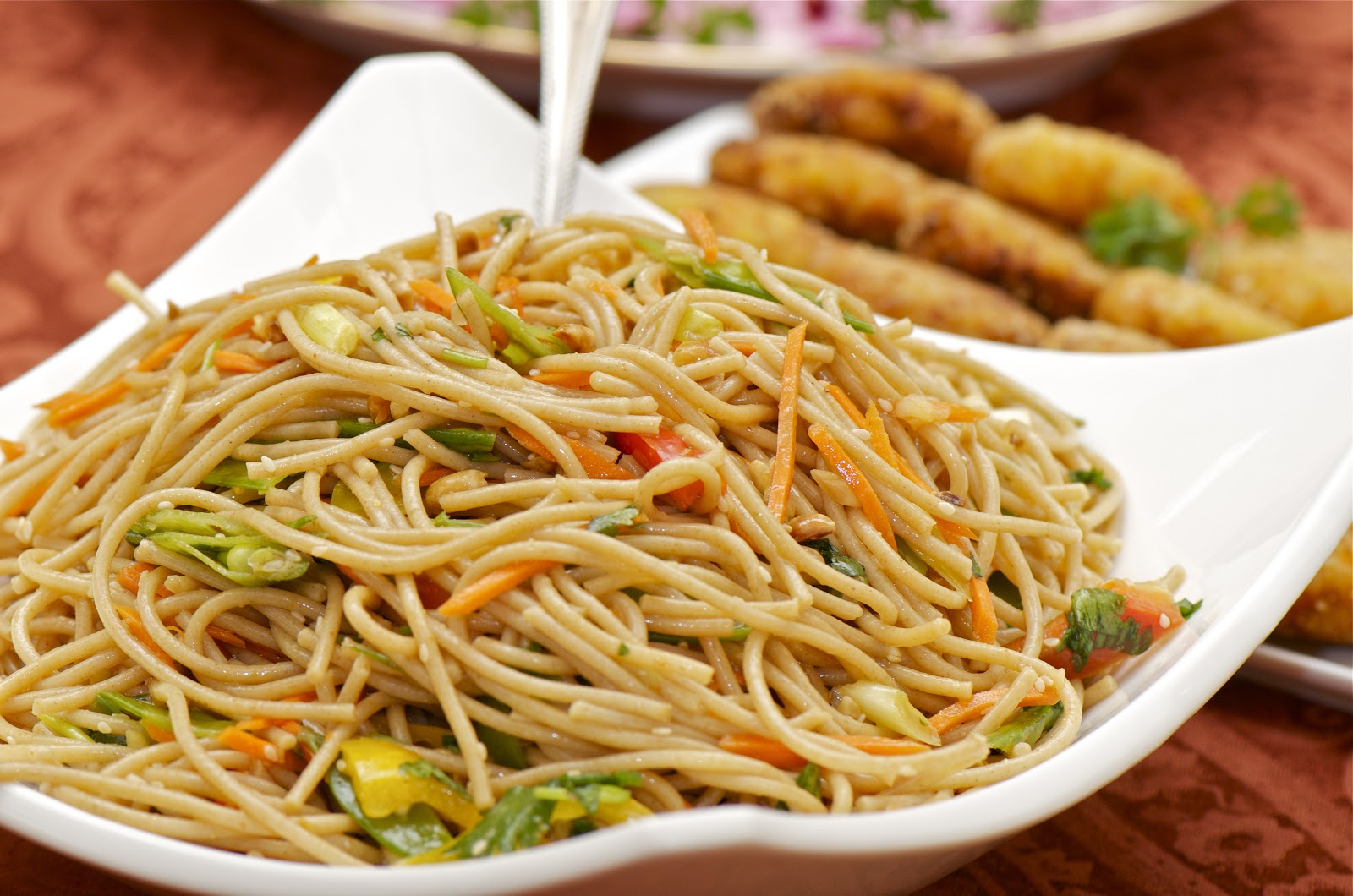 Asian Noodle Salad - Delights Of Culinaria